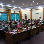 Rapat Bulanan Dinas Kehutanan Provinsi Sumatera Utara 01 Nopember 2019